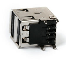 Double USB 2.0 Stacked Connector/Receptacle Motherboard