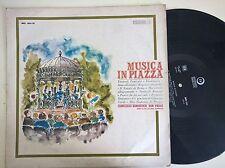 DISCO LP - MUSICA IN PIAZZA - EDIZIONI PAOLINE MC 30.12 - COMPLESSO SAN PAOLO