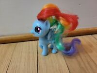 My Little Pony G4 Rainbow Dash Silly Looks Brushable Hair Figure