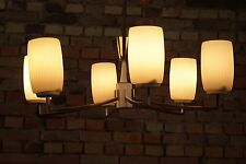 60er XXL DECKENLAMPE Mid-Century Design KRONLEUCHTER LAMPE PENDANT LAMP Vintage
