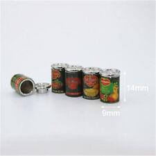 2pcs 1:12 Mini Fruit Canned Dollhouse Miniature Food Kitchen Doll Accessories