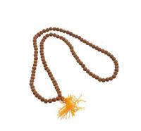 Mala Collana Rosario Perle Semi Da Rudraksha Sacra 7-8 MM Nepal 8310