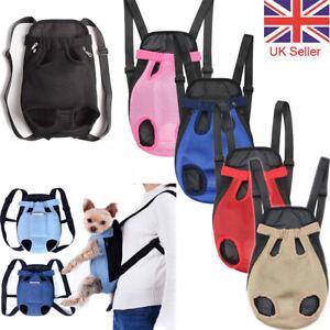 Dog Carrier Puppy Pet Front/Back Travel Backpack Shoulder Carry Sling Bag Pouch