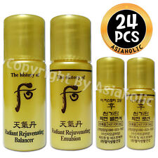 The history of Whoo Hwa hyun Balancer (12pcs) + Lotion (12pcs) 24pcs Hwahyun New