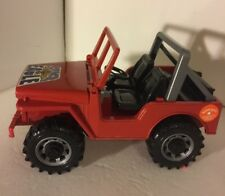 BRUDER TOY REDJEEP WRANGLER  SUPER EAGLE FROM GERMANY USED