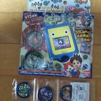 Yokai Watch Pad youkai yo-kai toy Bandai Japan official Medal Ichigo Nyan Steve