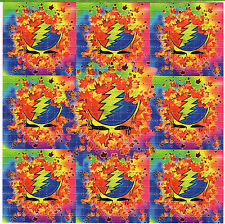 AUTUMN GRATEFUL DEAD BLOTTER ART Psychedelic Perforated Sheet Page Acid Free