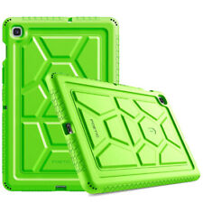 For Galaxy Tab S5E 2019 [Shockproof] w/Drop Protection Silicone Case Cover Green