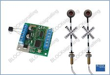 BLOCKsignalling Level Crossing Module with Led Lights PN