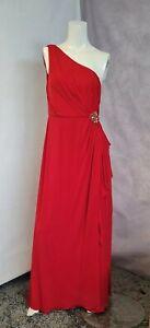 Red Maxi Gown Dress Eliza j Size 14