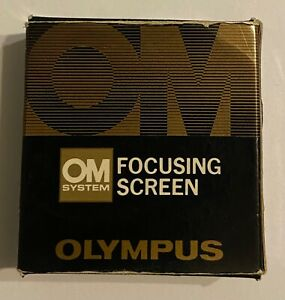 Olympus OM Focussing Screen 1-4, boxed