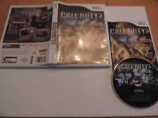 Call of Duty 3 (Nintendo Wii) CIB tested and working
