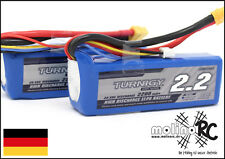 2x Turnigy 2200mAh 3S 20C-30C NEU POWER 3S  XT60 Lipo Akku 11,1V  ** 2 Stück **