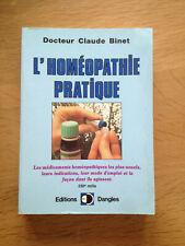 CLAUDE BINET L HOMEOPATHIE PRATIQUE 1992