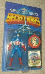 1984 MATTEL Marvel Secret Wars Captain America Action Figure - NEW IN BOX NIB