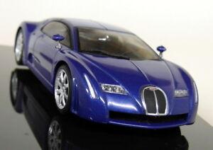 Autoart 1/43 - 50911 Bugatti EB 16.3 Chrion Blue Diecast Model Car