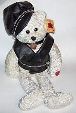 "pbc Chantilly Lane Singing Bear Angel Biker Bear sings: ""Born to Be Wild"""