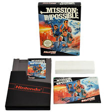 Mission Impossible - Nintendo NES Game Complete Boxed Manual Excellent Condition