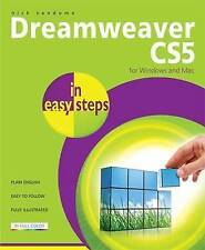 Dreamweaver CS5 In Easy Steps,Vandome, Nick,Very Good Book mon0000063612