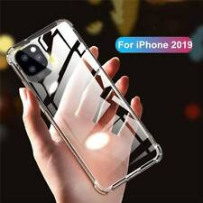 For iPhone 11 Plus X XS XR Clear Case Soft Bumper Cover ShockProof Ultra-thin