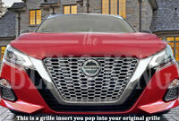 Fits 2019-2021 Nissan Altima chrome grille insert grill overlay trim