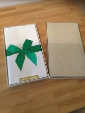 More details for vintage  irish linen damask napkins 6 . unused in box