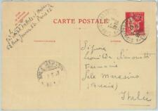 81982 - FRANCE - Postal History - STATIONERY CARD Yvert # 285 Michel # P46 1937