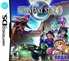 Phantasy Star Zero 0 [Nintendo DS DSi, Sega, Action SciFi RPG] NEW