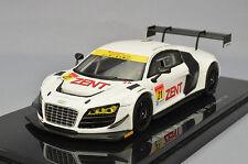 Ebbro 44948 1:43 Zent Audi R8 Lms ultra Gt300 2013 #21 Okayama Test White