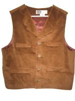 Vintage RARE Disney Cast Member Costume Wilderness Lodge Vest Mens size 40