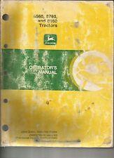 John Deere 8560, 8760, and 8960 Tractors Operator's Manual