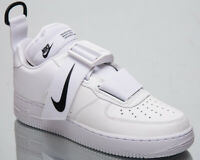 Nike Air Force 1 Low Utility Men's New White Black Lifestyle Sneakers AO1531-101