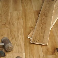 125mm Golden Oak Brushed & Matt Lacquered Solid Engineered Flooring ECH5