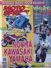 Motosprint 37 1997 Ecco le potentissime Kawasaki ZX-9R - ZX-6R
