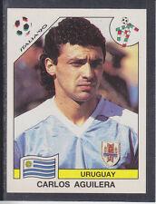 PANINI-ITALIA 90 COPPA DEL MONDO - # 381 CARLOS AGUILERA-URUGUAY