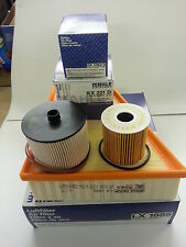 Ford Galaxy MK3 2.0 TDCi Oil Air Fuel Filter Service Kit Genuine MAHLE 2006-2010