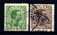DENMARK - DANIMARCA - 1913-1921 - Re Cristiano X