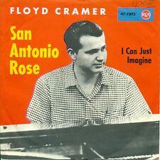 """FLOYD CRAMER - SAN ANTONIO ROSE 7"""" UNIQUE (S9300)"""