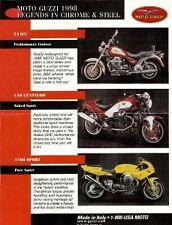 1998 Moto Guzzi Sport 1100, Centauro, V11EV brochure