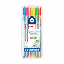 STAEDTLER TRIPLUS FINELINER 3 mm Neon Colors Set