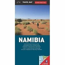 Namibia Travel Map  (Globetrotter Travel Pack), Globetrotter, New Book