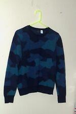 Paul Smith Women's  Sweater Camo sz  Large 100% merino wool