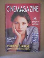 CINEMAGAZINE n°7-8 2001 Jasmine Trinca Alberto Sordi speciale  [G748]