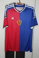 FC Basel 1893 2014 2015 Adidas Home Switzerland Shirt Jersey Trikot Size L