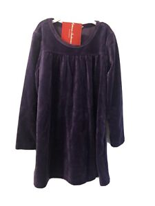 NWT Hanna Andersson Purple Plush Dress Size 4
