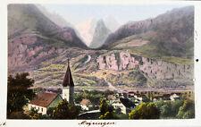 c1870 Schweiz Switzerland Berner Oberland Meiringen Kolorierte Ansicht Dikenmann