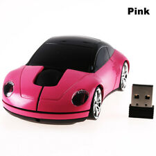 Wireless Mouse Racing Car Shaped 2.4GHz Optical Gaming Mice With USB Receiver