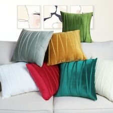 Soft Velvet Striped Decorative Pillows Throw Pillow Cover Cases Home Sofa Seat