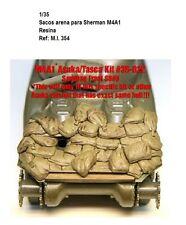 1/35 Resina accesorios sandbag sherman M4A1 estiba DIORAMA