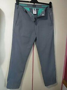 "Mens ADIDAS GOLF Stretch Trousers  ..  32"" waist"
